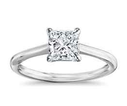BN Petite Solitaire Engagement Ring 2 - Solitaire engagement rings