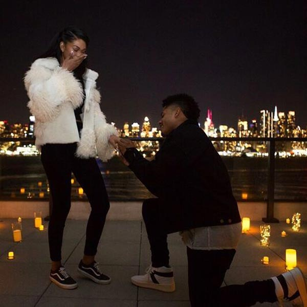 2 Chanel Imans Engagement Ring Proposal - Chanel Iman's Engagement Ring