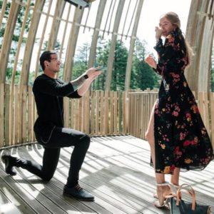 2 Debby Ryans Engagement Ring Proposal 300x300 - Debby Ryan's Engagement Ring