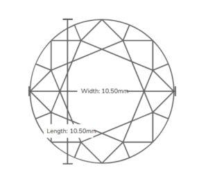 4.5 carat dimensions 300x258 - Taraji P Henson's Engagement Ring