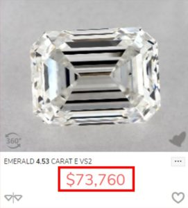 9 Debby Ryans Engagement Ring Comparable Diamond Price 271x300 - Debby Ryan's Engagement Ring