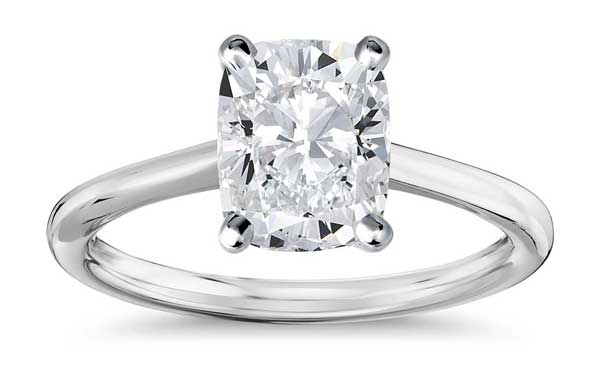 cushion cut diamond ring - Katherine Schwarzenegger's Engagement Ring