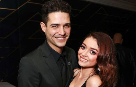 Sarah Hylands Engagement Ring Sarah Hyland and Wells Adams