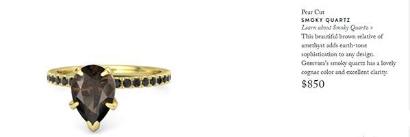 Scarlett Johanssons Engagement Ring Gemvara Copy