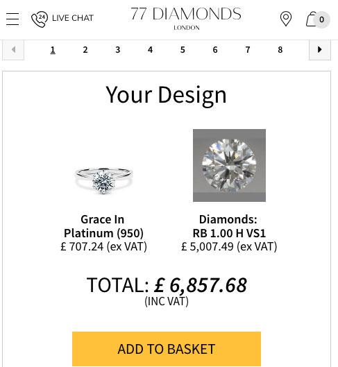 77 DIamonds comparison - 77 Diamonds review