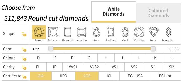 77 Diamonds GIA AGS - 77 Diamonds review
