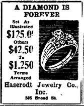diamond is forever 1948 - Lab grown diamonds
