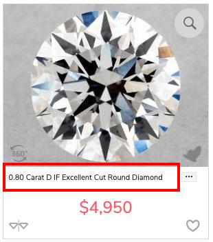 diamond budget d IF