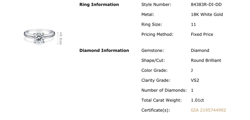 chow sand sang diamond quality - Importing a diamond or engagement ring into Hong Kong
