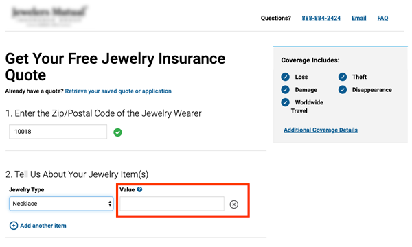 jewelry insurance value request - Jewelry appraisal: ultimate guide