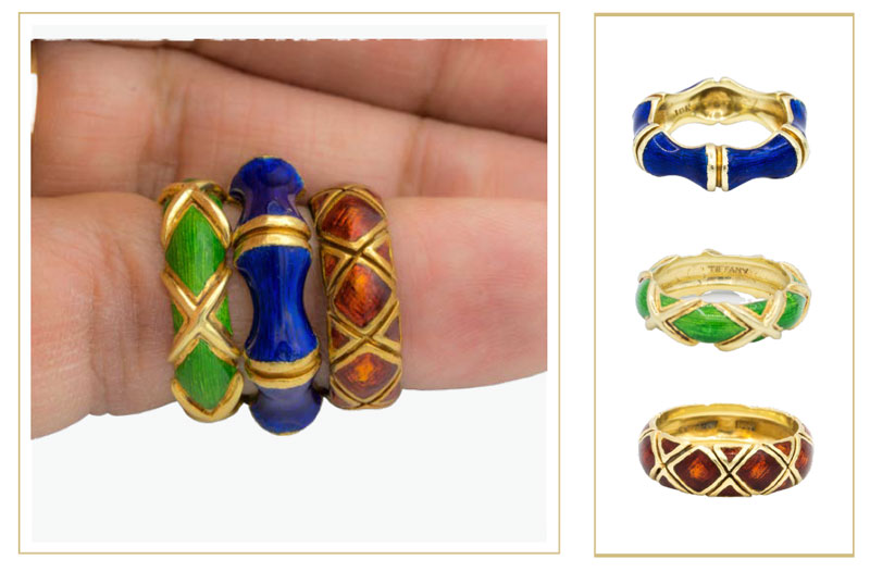 schlumberger tiffany rings - How to sell Tiffany & Co. jewelry