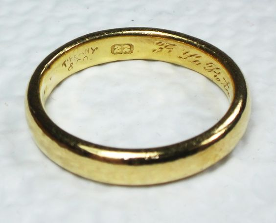 tiffany gold engagement ring - How to sell Tiffany & Co. jewelry