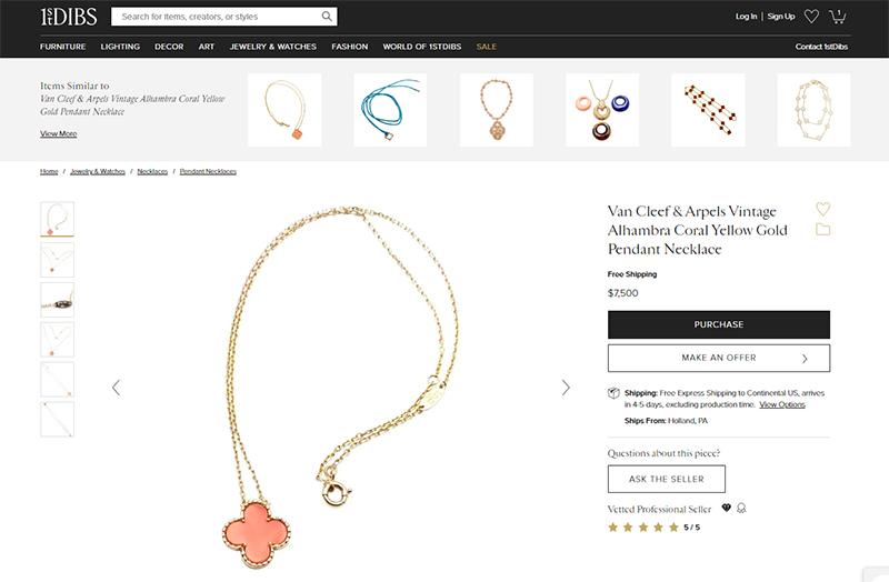 16 Van Cleef 1st Dibs - How to sell Van Cleef & Arpels jewelry
