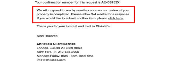 19 Van Cleef Christies Email e1609912861316 - How to sell Van Cleef & Arpels jewelry