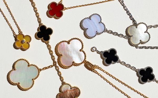 3 Van Cleef Alhambra Necklaces e1609902365239 - How to sell Van Cleef & Arpels jewelry